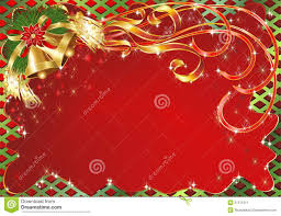 christmas cards backgrounds christmas greeting card background with bells stock vector