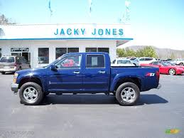 2009 Deep Navy Blue Chevrolet Colorado Z71 Crew Cab 4x4 #27850929 ...