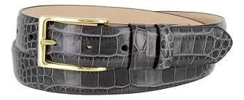Adam Men's <b>Genuine Italian Calfskin Leather</b> Dress Belt 30mm Wide