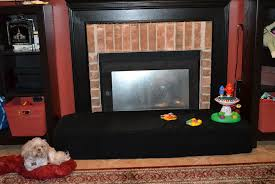 baby proof brick fireplace