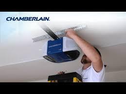 chamberlain wi fi garage door opener installation highlights
