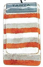 orange bath rug set orange bathroom rugs extremely orange bath rug set unusual top burnt bathroom orange bath rug