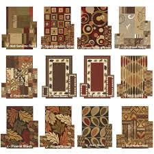 photo 3 of 9 3 piece area rug sets designs area rug and runner set 3
