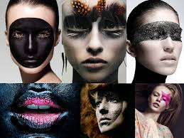 1 theatrical masked makeup the main inspiration taken by the amazing makeup artist rae morris