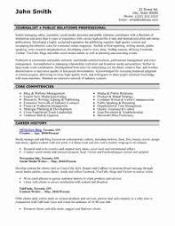 Public Relations Resume Templates Unique Sample Resume Public