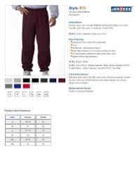 Jerzees Nublend Size Chart Custom Shirt Sizing Guide
