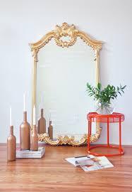 Diy Mirror Diy Mirror Makeover Stencil Your Favorite Quote On A Mirror