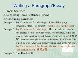 writing medical research papers in english the perspective of a  writing a paragraph essay 1 topic sentence 2 supporting ideas sentences