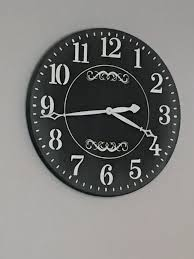 home design farmhouse wall clock t s on mesick aluminum old decor and traditional bedroom furniture