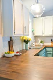 How To Install Butcher Block Countertops Hey Lets Make Stuff