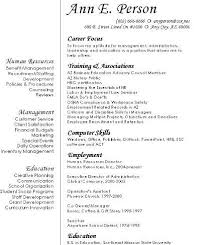 Resume Objective Examples 2 Career Change Template All Best Cv