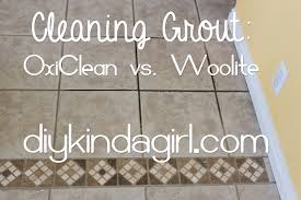 diy household tip cleaning grout oxiclean vs woolite