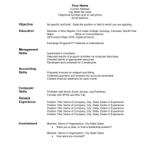 Free Functional Format Resume Template Executive Samples Writing A