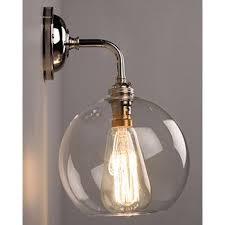 lenham contemporary wall light with