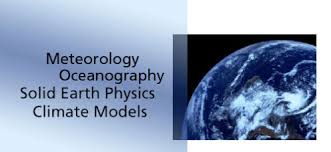 meteorology oceanography solid earth physics niels bohr  meteorology