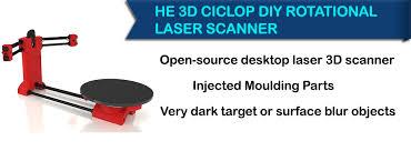 he 3d ciclop scanner ciclop is an open source