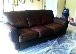 how to paint leather furniture chalk paint how to paint leather sofa leather couch paint painting leather furniture several years ago dusty were given hand