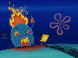 image   spongebob    s house on fire png   encyclopedia spongebobia    file spongebob    s house on fire png