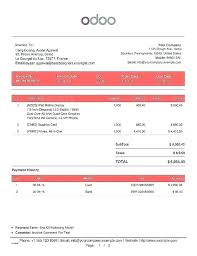 Web Development Invoice Website Invoice Template Web Design Elegant Quotation Excel