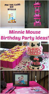 need ideas for a super cute diy minnie mouse birthday party this is just the