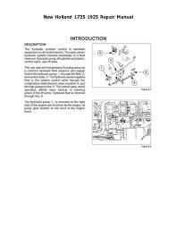 new holland 1725 1925 repair manual