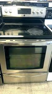 gas stove oven not working flat top stove burner not working glass top range burner not