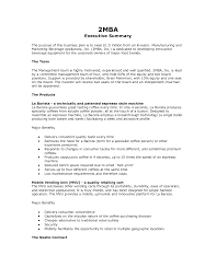 executive business plan template executive summary of business plan sample pdfplusexecutive summary