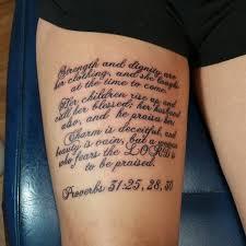 75 Religiöse Sinnvolle Bibelverse Tattoo Designs Heilige Geister