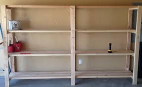 diy garage shelving idea