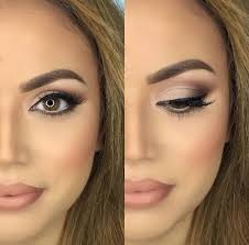 30 wedding makeup ideas for brides bridal glam romantic make up ideas for the wedding natural and airbrush techniques that look great with blue