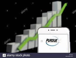Purdue Pharma Stock Chart Hong Kong 20th Apr 2019 In This Photo Illustration A