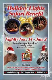 Holiday Lights Program 2016 Final By Hollywild Animal Park