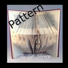 inspirational book folding patterns cherry font disk 40 words to choose from
