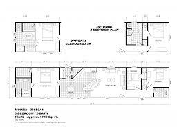 Single Wide Mobile Home Floor Plans 2 Bedroom Open Floor Plans For Homes With Stylish Open Floor Plans For