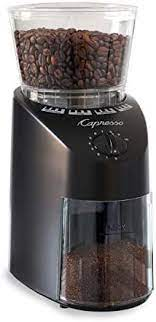 Coffee burr grinder delivers consistent, uniform grinding for your favorite brewing method. Amazon Com Capresso Infinity Conical Burr Grinder Black Kitchen Dining