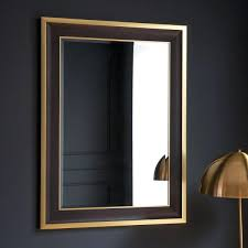 Framed modern mirror Polished Chrome Related Post Cashlessshoppinginfo Black Mirror Frame Thin Black Framed Bathroom Mirror Black Wall