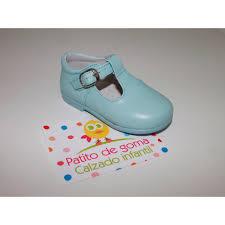 T Strap Shoes Patito De Goma