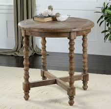 the end table to end all end tables meg milam home round wood end tables