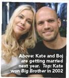 She has a twin sister, karen, who provided the main encouragement for kate to enter big brother. Former Big Brother Winner Kate Lawler Talks To Ok About Her Baby Dilemma Pressreader