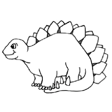 Simple baby dinosaur coloring page to download for free. Top 35 Free Printable Unique Dinosaur Coloring Pages Online