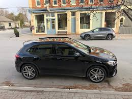 The only ones that shrank were front legroom and rear headroom, both by less than an inch. First Drive 2021 Mercedes Benz Gla 250 4matic And Gla 35 Wheels Ca