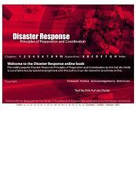 Tide Chart Kemah Tx Disaster Response Principles Of Preparation And Coordination