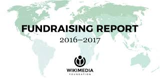 Charity Efficiency Chart 2016 2017 Fundraising Report Wikimedia Foundation