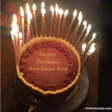 happy birthday cakes with candles for best friend. Delighful Birthday Name On Happy Birthday Chocolate Cake With Candles Inside Cakes For Best Friend H