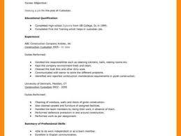 Pretty Resume Custodian Job Description Gallery Resume Ideas