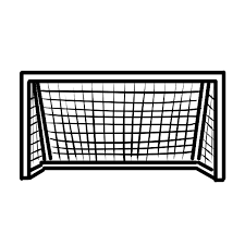 サッカーゴールのイラスト かわいいフリー素材が無料のイラストレイン