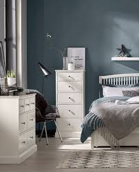 Image Elegant White The Bed Warehouse Bentley Designs Ashenby White Bedroom Furniture