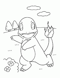 Small Picture Science Pokemon Coloring Pages Charmander Coloring Widetheme