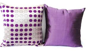 purple decorative pillows lilac purple pillow covers set of two