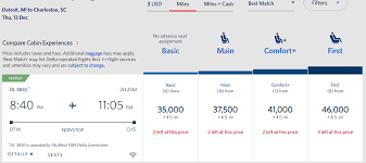 Delta Frequent Flyer Redemption Chart Delta Now Punishing Frequent Flyers Starting To Book Some